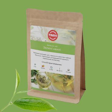 Цена Чай Зеленый рассыпной Trevi Зеленые волны 100 г