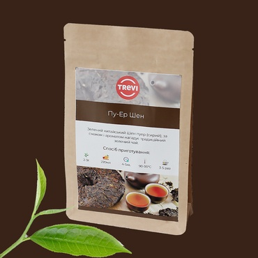 Цена Чай зеленый Trevi Пуэр  Шен 50 г