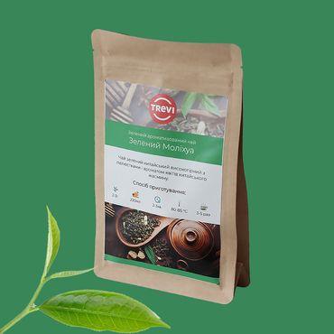 Цена Чай Зеленый рассыпной Trevi Зеленый Молихуа 50 г
