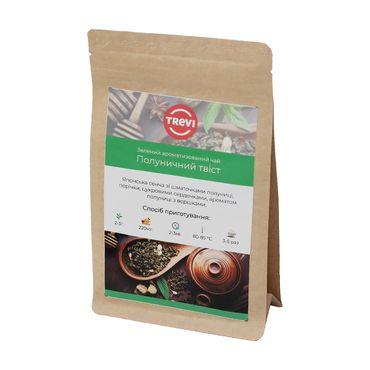 Чай Зеленый рассыпной Trevi Клубничный твист 1 кг