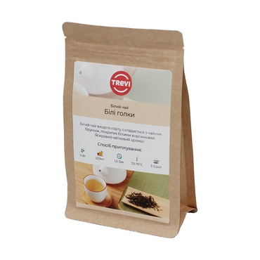 Чай белый рассыпной Trevi  Белые иглы 1 кг