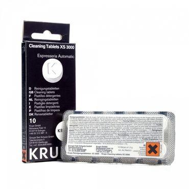 Цена Таблетки Krups (XS3000) для чистки гидросистем от кофейных масел