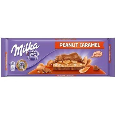 Шоколад Milka Peanut Caramel 276 г
