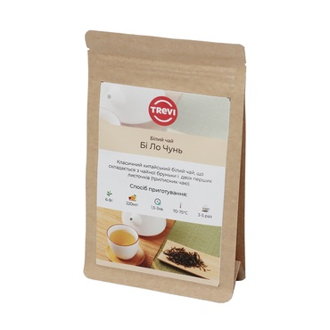 Чай белый рассыпной Trevi Би Ло Чунь 1 кг