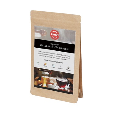 Чай черный рассыпной Trevi Дарджилинг Маханджи 1 кг