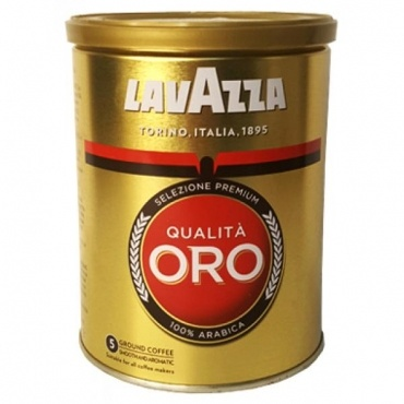 Кофе молотый Lavazza Qualita Oro ж/б 250 г