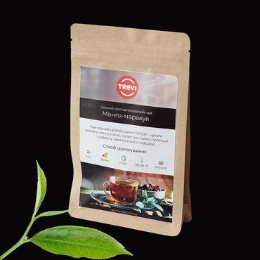 Цена Чай черный рассыпной Trevi Манго маракуя 1 кг