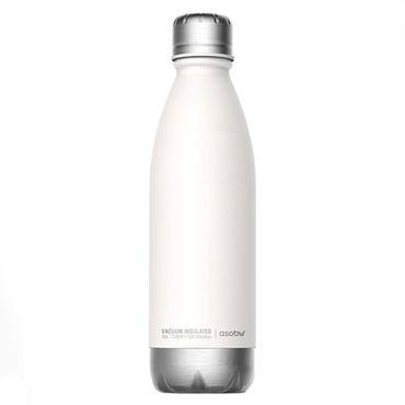 Термобутылка Asobu Central Park 510 мл Белая с серебристым (SBV17 WHITE/SILVER)