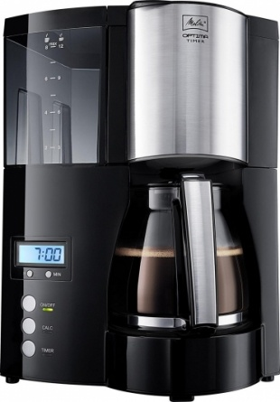Кофемашина Melitta Optima Timer Black
