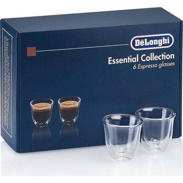 Набор стаканов Delonghi DLSC300 ESPRESSO (6 шт) 60 ML