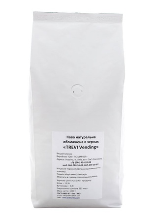 Кофе в зёрнах Trevi Vending 1 кг