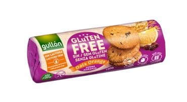 Печенье Gullon злаковое с апельсином и изюмом - 180 г