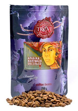 Цена Кофе в зёрнах Trevi Арабика Колумбия Эксельсо 250 г