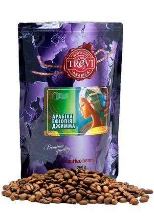 Цена Кофе в зёрнах Trevi Арабика Эфиопия Джимма 250 г