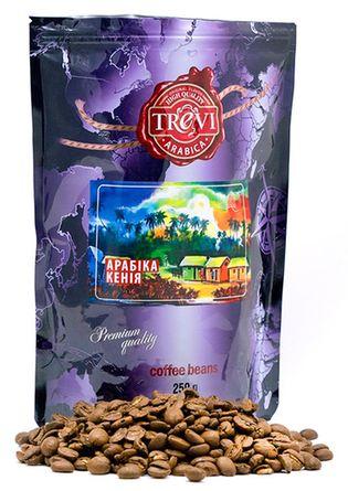 Цена Кофе в зёрнах Trevi Арабика Кения 250 г