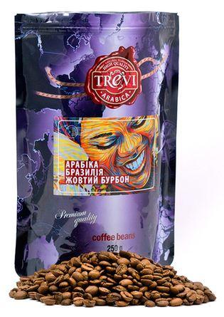 Цена Кофе в зёрнах Trevi Арабика Бразилия Желтый Бурбон 250 г