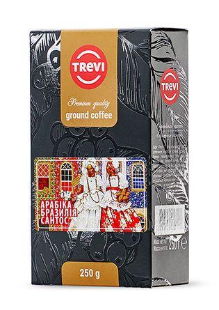 Кофе молотый Арабика Бразилия Сантос 250г