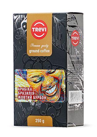 Кофе молотый Trevi Арабика Бразилия Желтый Бурбон 250 г