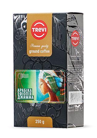 Кофе молотый Trevi Арабика Эфиопия Джимма 250г