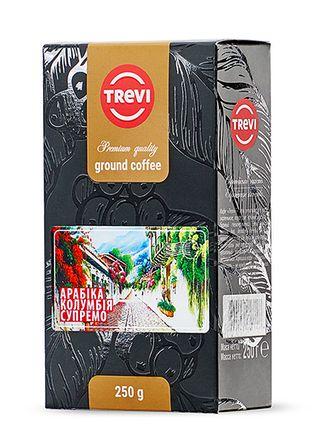 Кофе молотый Trevi Арабика Колумбия Супремо 250г