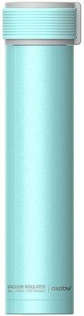 Термобутылка Asobu Skinny Mini 230 мл Голубая (SBV20 TEAL)