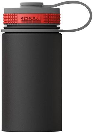 Термобутылка Asobu Mini Hiker 355 мл Черная (TMF3 BLACK)
