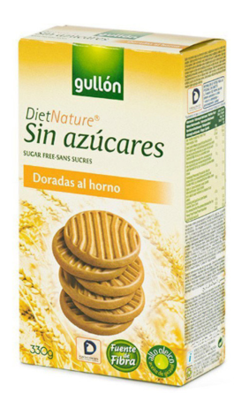 Печенье Gullon Diet Nature Doradas - 330 г