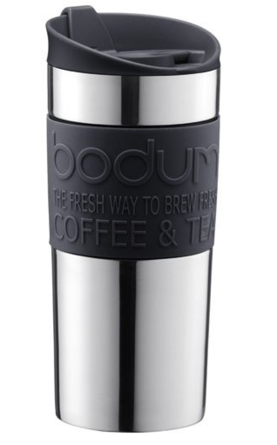 Термокружка Bodum Travel Mug Серый 350 мл (11068-380S)