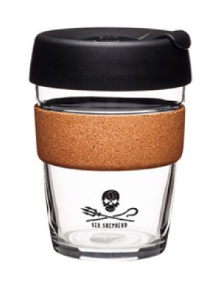 Чашка Keep Cup Medium Brew Sea Shepherd Cork 340мл (BCSEA12)