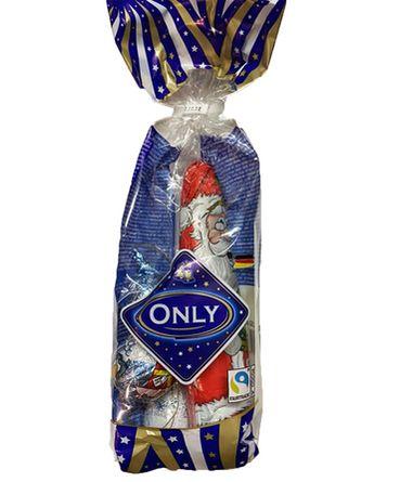 Шоколадный Santa Clauses и фигурки MIX Only (100 г)
