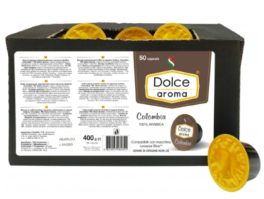Кофе в капсулах Dolce Aroma Colombia Lavazza Blue (50 шт)