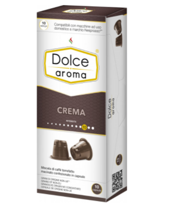 Кофе в капсулах Dolce Aroma Crema Nespresso (10 шт)