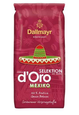 Кофе в зернах Dallmayr Crema d'Oro Selektion Mexico 1 кг
