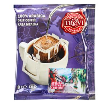 СЕТ дрип кофе Trevi MIX 8 видов x 10 шт