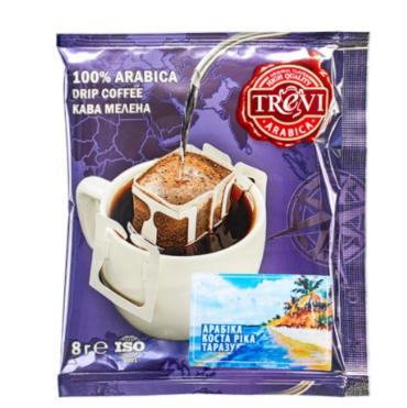 Стоимость СЕТ дрип кофе Trevi MIX 8 видов x 25 шт