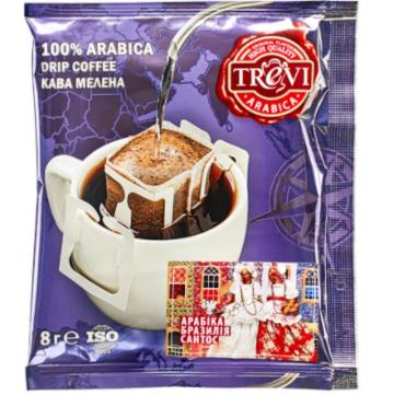 Стоимость СЕТ дрип кофе Trevi MIX 8 видов x 10 шт