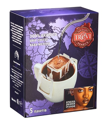 Дрип кофе Trevi Арабика Эфиопия Иргачифф 5x8 г