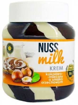 Шоколадная паста Nuss Milk Krem  молочно-ореховая 400 г