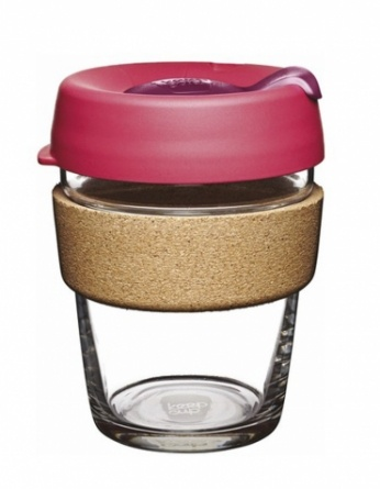 Чашка Keep Cup Medium Brew Flutter Cork 340 мл (BCFLU12)