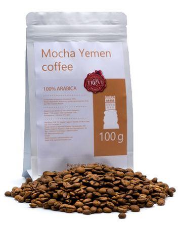 Цена Кофе в зёрнах Trevi Арабика Mocha Yemen 100 г