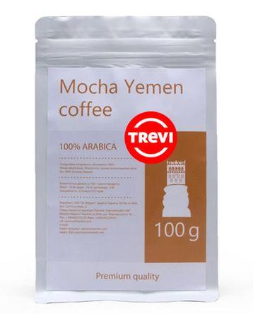 Кофе в зёрнах Trevi Арабика Mocha Yemen 100 г