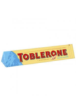 Шоколад молочный Toblerone Crunchy Almonds 100 г
