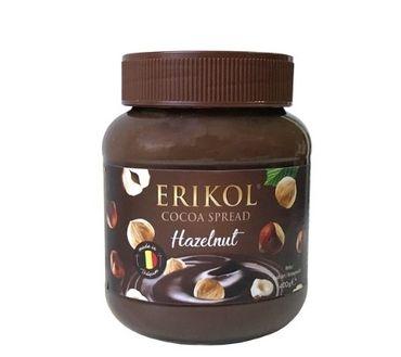 Шоколадная паста с фундуком Erikol 400 г