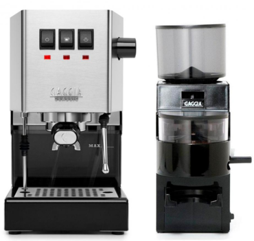 Комплект Gaggia Classic кофеварка + Gaggia MDF кофемолка