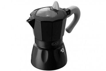 Кофеварка гейзерная GAT ROSSANA 6 чашек Черная