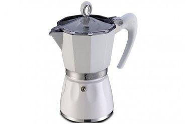 Кофеварка гейзерная GAT BELLA 6 чашек Белая