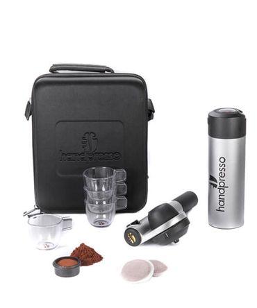 Портативная кофеварка Handpresso Pump Set Grey