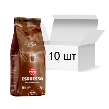 Ящик кофе в зернах Trevi Espresso 1 кг х 10 шт