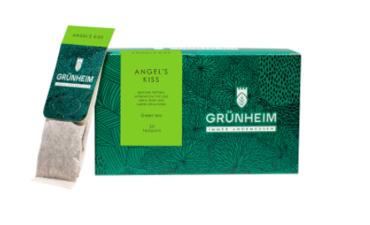 Чай зеленый пакетированный Grunheim Angels Kiss 20 шт