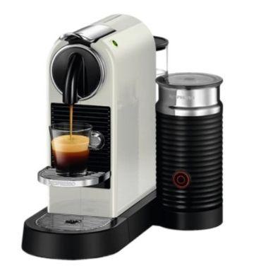 Капсульная кофеварка Nespresso CitiZ and Milk White